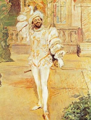 Francisco D'Andrade - Image: Max Slevogt Das Champagnerlied Don Giovanni Andrade