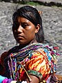 Mayan Woman in Central Park - Antigua Guatemala - Sacatepequez - Guatemala (15914797001).jpg