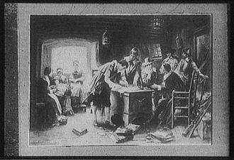 Edward Percy Moran - Image: Mayflowercompact