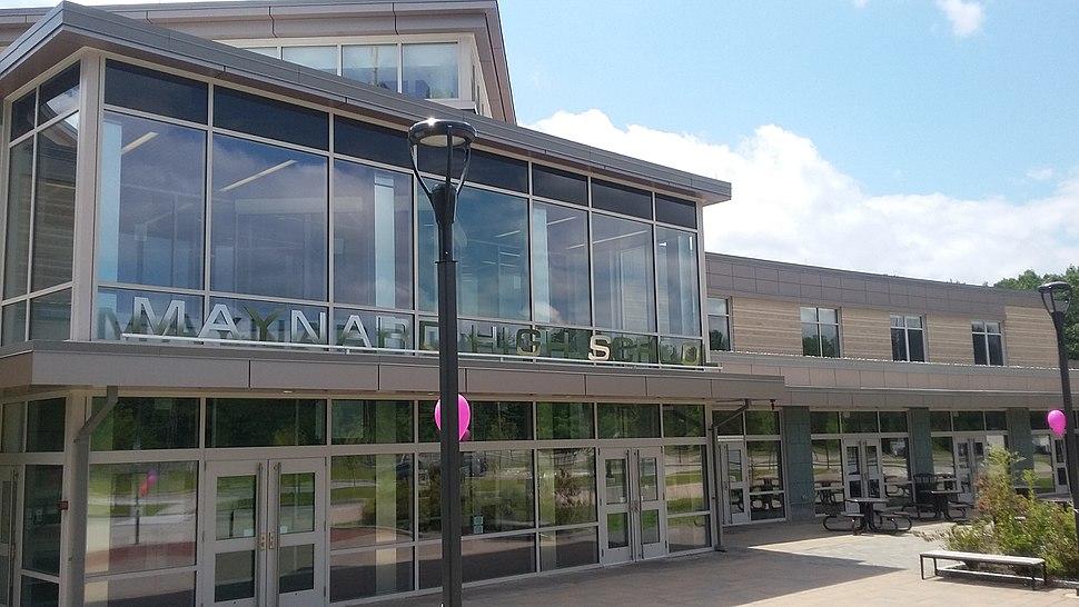 Maynard High School in Maynard Massachusetts USA 2