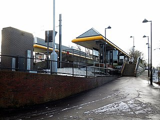 Meadow Well Metro station Tyne and Wear Metro station in North Tyneside