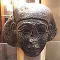 Medio regno, frammento di testa da statua, 2160-1580 ac..JPG