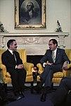Meeting in the Oval Office between Nixon and King Hussein of Jordan. - NARA - 194338.jpg