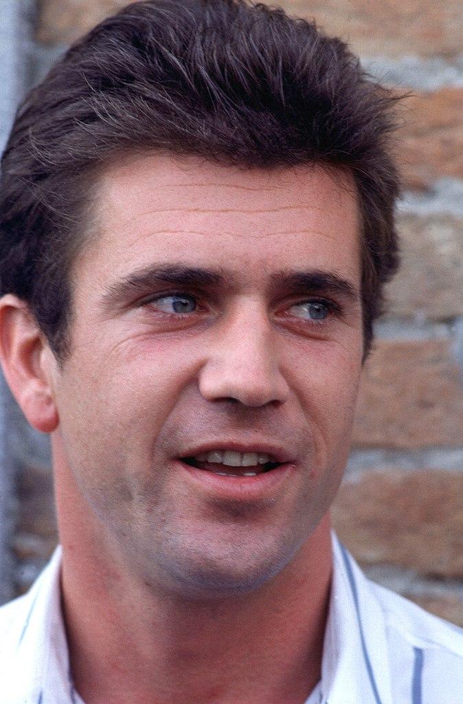 Mel Gibson Größe