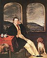 Melegh Portrait of a Man (Schubert) 1827.jpg