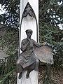 Memorial column by Ferenc Farkas (1993), Hévíz, 2016 Hungary.jpg