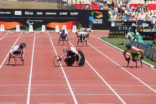 Men's 4x400m relay T53-54 - 2013 IPC Athletics World Championships-6