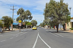 Merbein - Commercial Street, the main street of Merbein