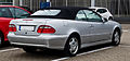 Mercedes-Benz CLK 200 Kompressor Cabriolet Elegance (A 208, Facelift) – Heckansicht, 1. Juni 2013, Ratingen.jpg