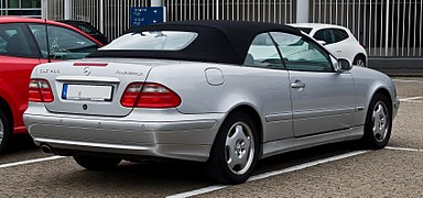 mercedes benz clk class wikipedia. Black Bedroom Furniture Sets. Home Design Ideas