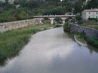 Metauro - The Metauro in Sant'Angelo in Vado