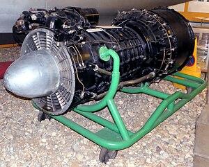 Metropolitan-Vickers F.2 - Beryl engine preserved at Solent Sky Museum