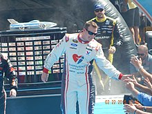 Michael McDowell at the Daytona 500.JPG