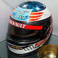 Michael Schumacher 1995 helmet 2015 Grand Prix Museum.jpg