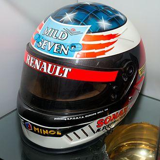 Bell Sports - Helmet of F1 driver Michael Schumacher in 1995