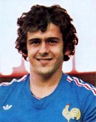 Michel Platini - Platini with France at the 1978 World Cup
