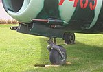 Mikoyan MiG-17 cannon detail, Seattle Museum of Flight, Washington.jpg