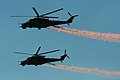 Mil Mi-35 Hinds 3365 & 3367 (8124450878).jpg