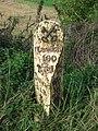 Milepost on the Downham-Wisbech road - geograph.org.uk - 946544.jpg