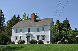 Milford, New Hampshire - Image: Milford NH William Peabody House
