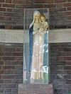 milheeze rijksmonument 518095 mariakapel bij schutsboom, beeld madonna met kind