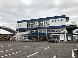 Minami-Miyazaki Station railway station in Miyazaki, Miyazaki, Japan