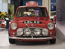 1967 Monte Carlo Rally Winner 1966 Morris Mini Cooper S