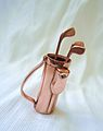Miniature copper golf equipment.JPG