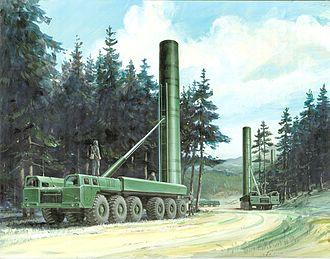 Intermediate-Range Nuclear Forces Treaty - SS-20 launchers