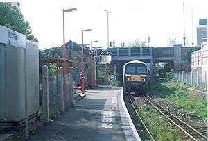 Mitcham (London) railway station - Former Mitcham Station