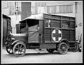 Mobile bacteriological laboratory, exterior. Wellcome L0022452.jpg
