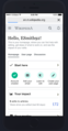 Mockup of mobile newcomer homepage for Mediawiki software 2019-06-04.png