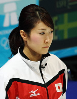 Moe Meguro Japanese curler