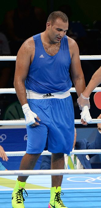 Mohamed Arjaoui - Arjaoui at the 2016 Olympics