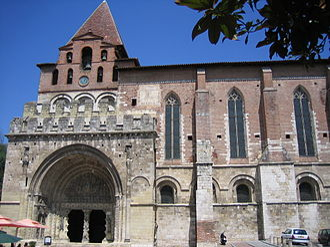 Moissac Abbey - The Romanesque south door of the abbey church