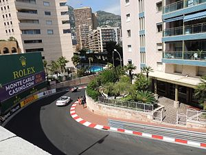 2014 Monaco Grand Prix - The Circuit de Monaco being prepared for the race