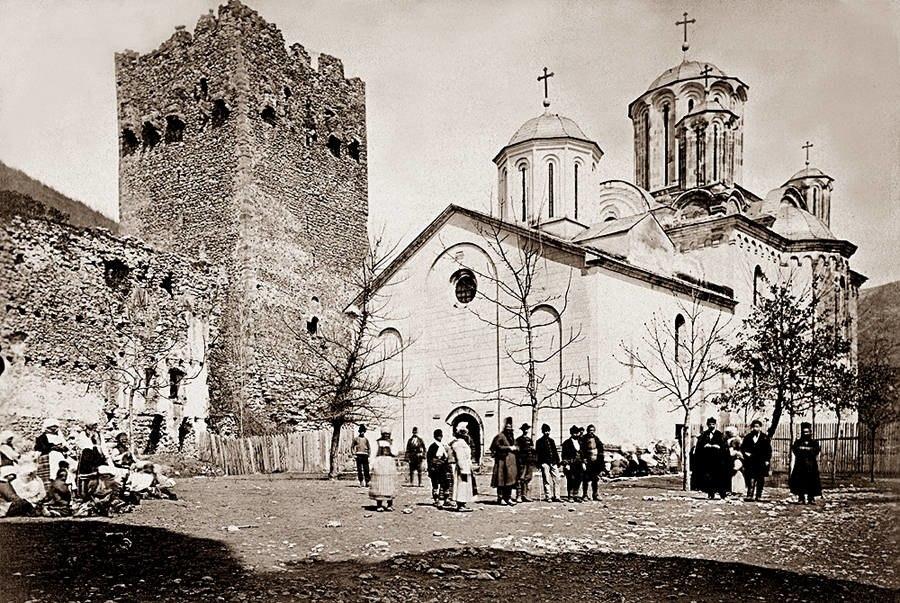 Monastery Manasija, 1875