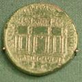 Moneta di traiano, basilica ulpia, 98-117.JPG
