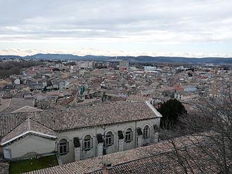Montélimar - A view over Montélimar