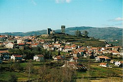 The hilltop Montalegre Castle