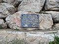 Monument Libération de Marseille août 1944 Lascours Roquevaire BdR France 20210207 165326.jpg