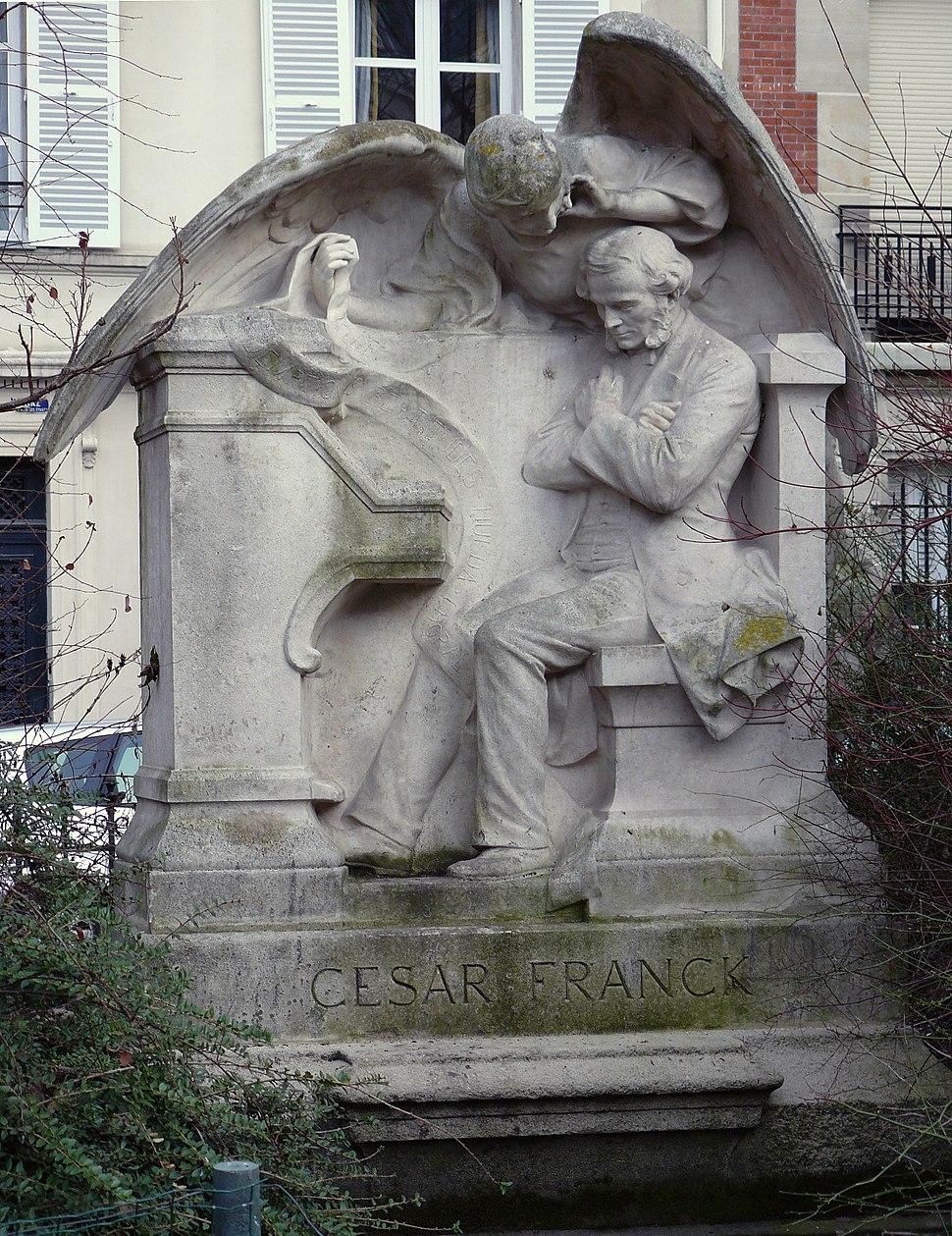 Monument a Cesar Franck