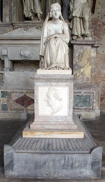 Archivo: Monumento del conte Masiani con l'Inconsolabile di Lorenzo Bartolini (1841) 02.JPG