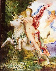 Europa and the Bull by Gustave Moreau, c. 1869