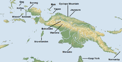 Islas donde aparece esta especie.