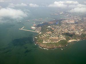 Mormugao - Image: Mormugao Harbour Aerial View