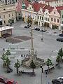 Morový barokní sloup - Havlíčkovo náměstí - Havlíčkův Brod 3.JPG