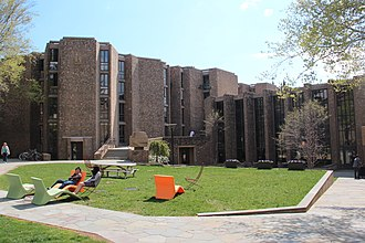 Morse College - Morse College courtyard