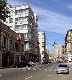 Мясницкая улица здание госторга