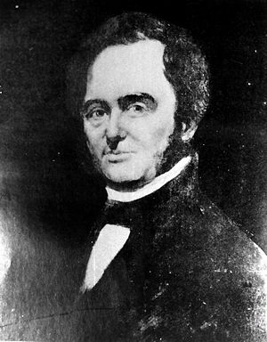 Moses Austin - Portrait of Moses Austin